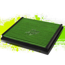 WASHABLE DROP IN PANEL PERFORMANCE AIR FILTER GREEN FOR A4/A6/QUATTRO/S4/S6