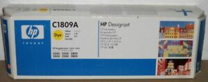 HP C1809A yellow gelb Tinte Druckkopf Designjet 2000 2500 2800 3000 3500 3800