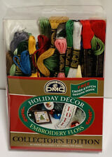 DMC Holiday Decor Embroidery Floss Collector's Edition 30 Skeins New