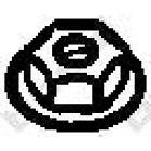 10 St. BOSAL 258-038 Mutter, Abgaskrümmer