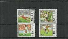 FIJI SG798-801 WORLD CUP FOOTBALL CHAMPIONSHIPS ITALY 1990  SET MNH