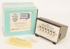 More details for hammant & morgan h & m multipack flash switch unit ex shop stock mint boxed