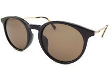 MONT BLANC Polarised Jet Black Sunglasses / Carl Zeiss Brown Polarized MB599 01M