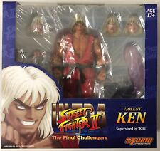 Storm Collectibles Violent Ken Ultra Street Fighter II Final Challengers Figure