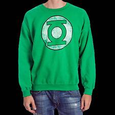 NWT DC COMICS GREEN LANTERN Logo SWEATER SWEATSHIRT Big Bang size - Large LG