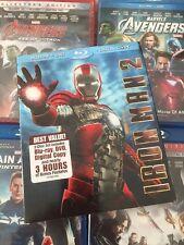 Iron Man 2 (Blu-ray/DVD, 2010) w/ Rare Slipcover