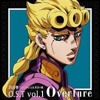 Jojo's Bizarre Adventure TV Anime Golden Wind O.S.T Vol.1 CD Overture Soundtrack