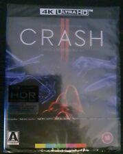 Crash (james Spader Holly Hunter Elias Koteas) 4k Ultra HD Region B Blu-ray
