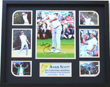 New Adam Scott Signed Limited Edition Memorabilia
