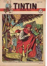 TINTIN 1947 n° 32 couverture de Jacobs