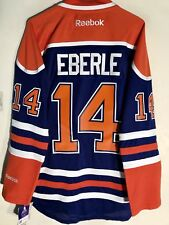 Reebok Premier NHL Jersey Edmonton OIlers Jordan Eberle Blue sz L