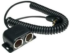 Powerlet BMW to Dual Cigarette 24 coiled cable R1200GS R1200RT K1300 PAC-031