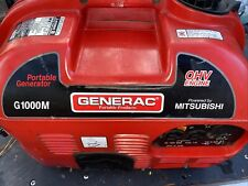 Generac G1000M.  Generator. OHV Mitsubishi Engine PLEASE READ DESCRIPTION!!