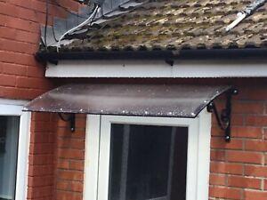 Wrought Iron Door canopy,Over Door Shelter.