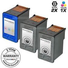 3 BLK CLR Ink Cartridge for HP 56 57 C6656 C6657 PhotoSmart 7150 7260 7350 7450