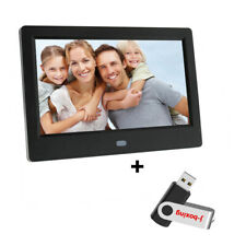 7 inch HD Digital Photo Frame Motion Sensor&32GB Memory LED Picture Frame Remote