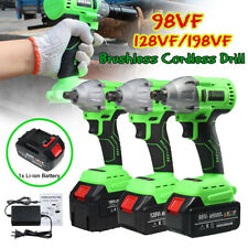 98VF/128VF/198VF Electric Cordless Impact Wrench Rechargeable Drill Driver