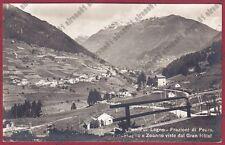 BRESCIA PONTE DI LEGNO 83 Fraz PEZZO - ZOANNO - PRECASAGLIO Cartolina REAL PHOTO
