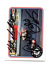 Sterling Marlin/Geoff Bodine original hand signed autographed Maxx 88 card