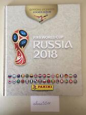Panini Hardcover Album Russia 2018 Blanc White Weiss creme beige France