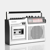 CROSLEY CASSETTE TAPE PLAYER RADIO PORTABLE BOOMBOX TAPE PLAYER FAULTY