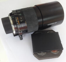 TAMRON SP 500mm F8 TELE MACRO BBAR MC MIRROR LENS with filters, Olympus mount