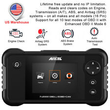 ABS SRS Airbag Automotive Scanner Diagnostic Tool Car OBD2 Engine Code Reader