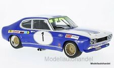 Ford Capri RS 2600 #1 ford Alemania Brno etc, D. Glemser 1972 1:18 Minichamps