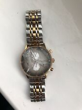 EMPORIO ARMANI AR1721 MEN'S TWO TONE WATCH Smashed Glass REPAIRS RRP £279.00