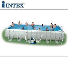 Piscina Rettangolare INTEX Ultra Metal 975 x 488 x 132 cm - SPED.IMMEDIATA !!!