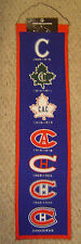 MONTREAL CANADIENS HERITAGE BANNER