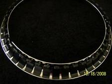 "Chrome Stainless Steel 17"" Trim Beauty Rings Dodge Ford Chevy Van Truck GMC Chev"