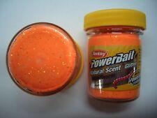 Berkley PowerBait Glitter Bloodworm FLUO orange 1214502 Troutbait Bait Paste