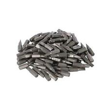 Silverline Slotted Cr-V Screwdriver Bits 100pk 7mm DIY Power Tool Accessories