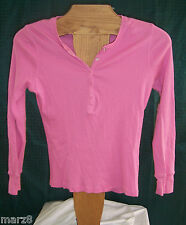 NWT Preview International Pink cotton long sleeve t Shirt Misses Size Small
