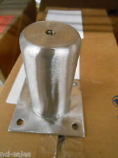 """BOX OF 36 4"""" 61751C040N0W Stainless steel leg socket 3½"""" SQ MOUNT MADE IN CHINA"""