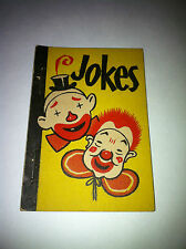 1938 JOKES HOBBY BOOK ICE CREAM LID WHITMAN BIG LITTLE PENNY BOOK PREMIUM