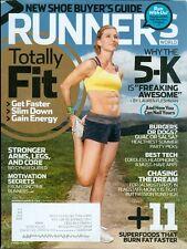 2014 Runner's World Magazine: Lauren Fleshman/Totally Fit/5K/Healthy Summer Food