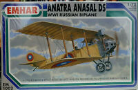 Anatra Anasal DS WWI Russian Biplane - Emhar Kit 1:72 EMH 1002
