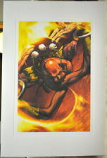 Street Fighter - DHALSIM LIMITED EDITION PRINT Capcom Arnold Tsang art