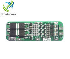 12.6V 3S 20A  Li-ion Lithium Battery 18650 Charger PCB BMS Protection Board Cell