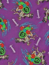 Goosebumps Halloween Fabric Skateboard Mummy Purple by Parachute Press 1997
