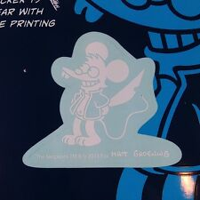 """The Simpsons Itchy the Mouse Car Window Sticker Decal Family 2"""""""