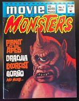 MOVIE MONSTERS Magazine No 1 - DECEMBER 1974 - GREG THEAKSTON