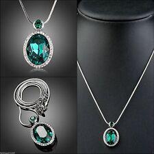 Beauty ausdrucksstarke Modeschmuck-Halsketten & -Anhänger aus Kristall