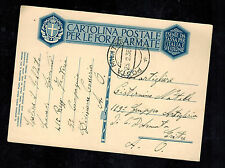 1936 Cosseria Division Italy POSTCARD Cover Army Post to Eritrea Soldier Mail