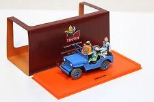 """1:43 Tintin JEEP CJ 2a Blue """"Tintin"""" NEW in Premium-MODELCARS"""