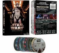 Star Wars: The Complete Saga Episodes 1-8 (DVD, 14-Disc Set)
