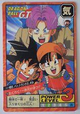 ▬► Carte DBZ Dragon Ball Z GT Grand Combat Super Battle Part 17 Bandai 724