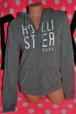 Hollister By Abercrombie & Fitch Women's Hoodie San Clemente Sweatshirt Gray S